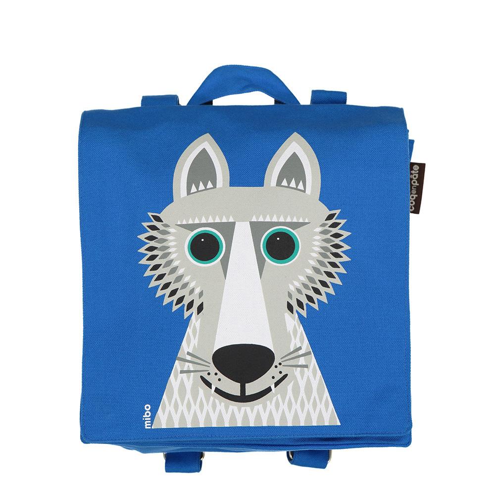 COQENPATE│法國有機棉無毒環保布包 / 小童寶包幫- 野狼