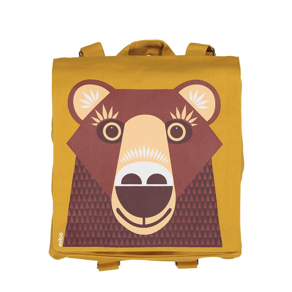 COQENPATE│法國有機棉無毒環保布包 / 小童寶包幫- 熊