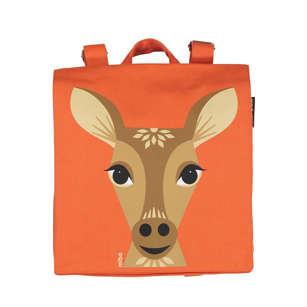 COQENPATE│法國有機棉無毒環保布包 / 小童寶包幫- 鹿