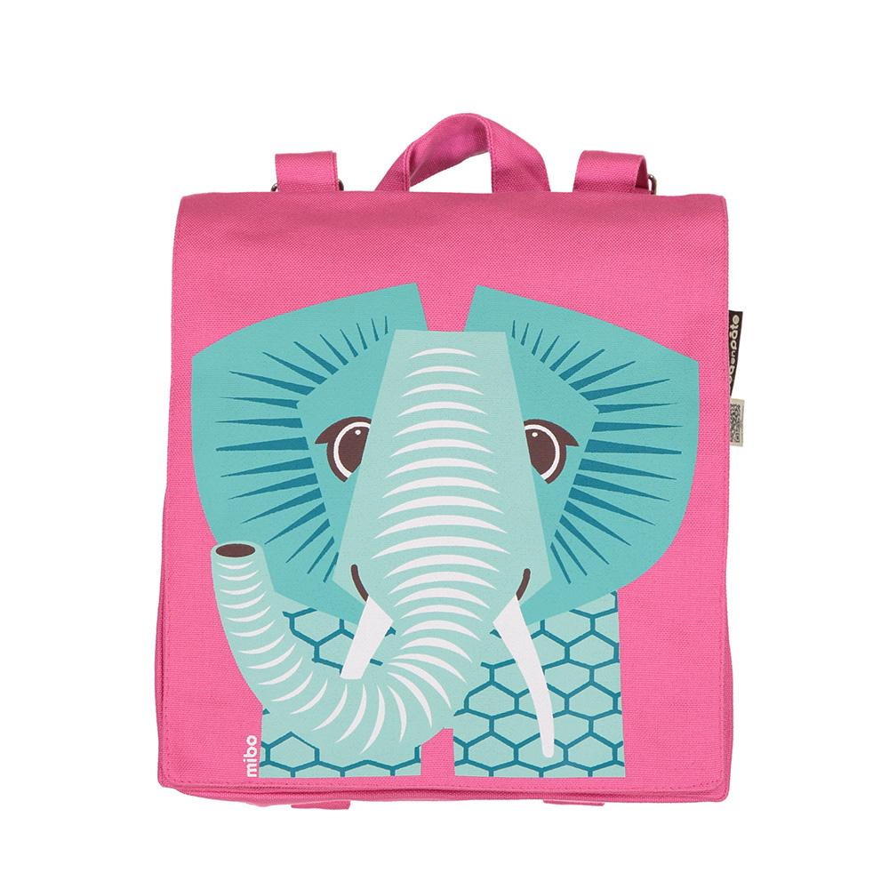 COQENPATE│法國有機棉無毒環保布包 / 小童寶包幫- 大象
