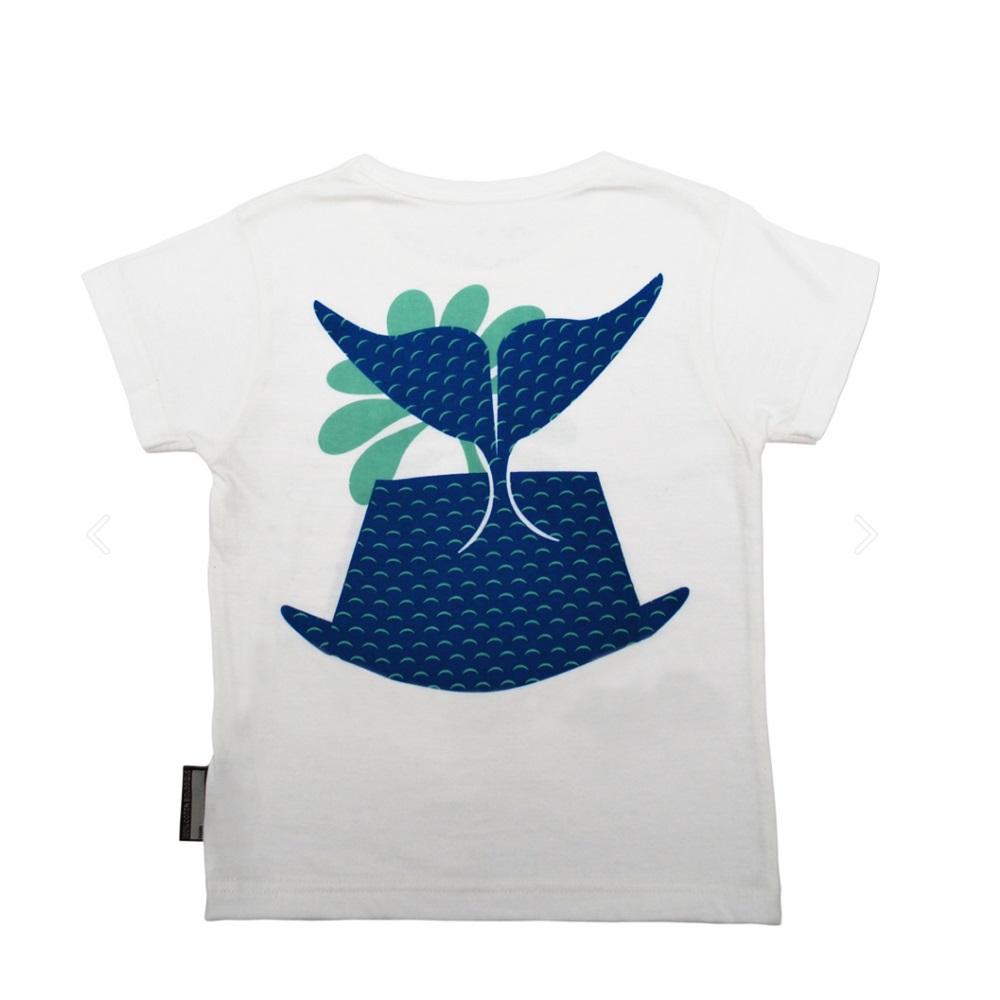 COQENPATE│法國有機棉童趣 短袖 T-SHIRT - 鯨魚