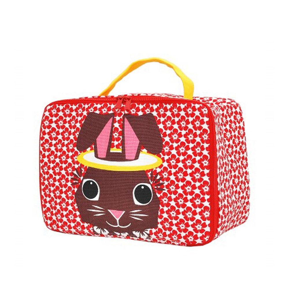 COQENPATE│法國有機棉無毒環保布包 / 方方兒拎出門 - 兔子
