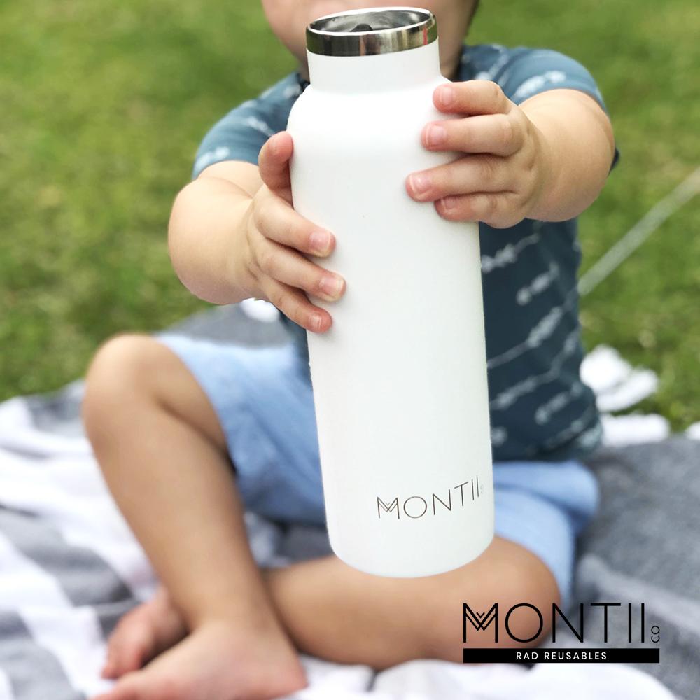 Montii  不鏽鋼水壺 - (L)雲朵白