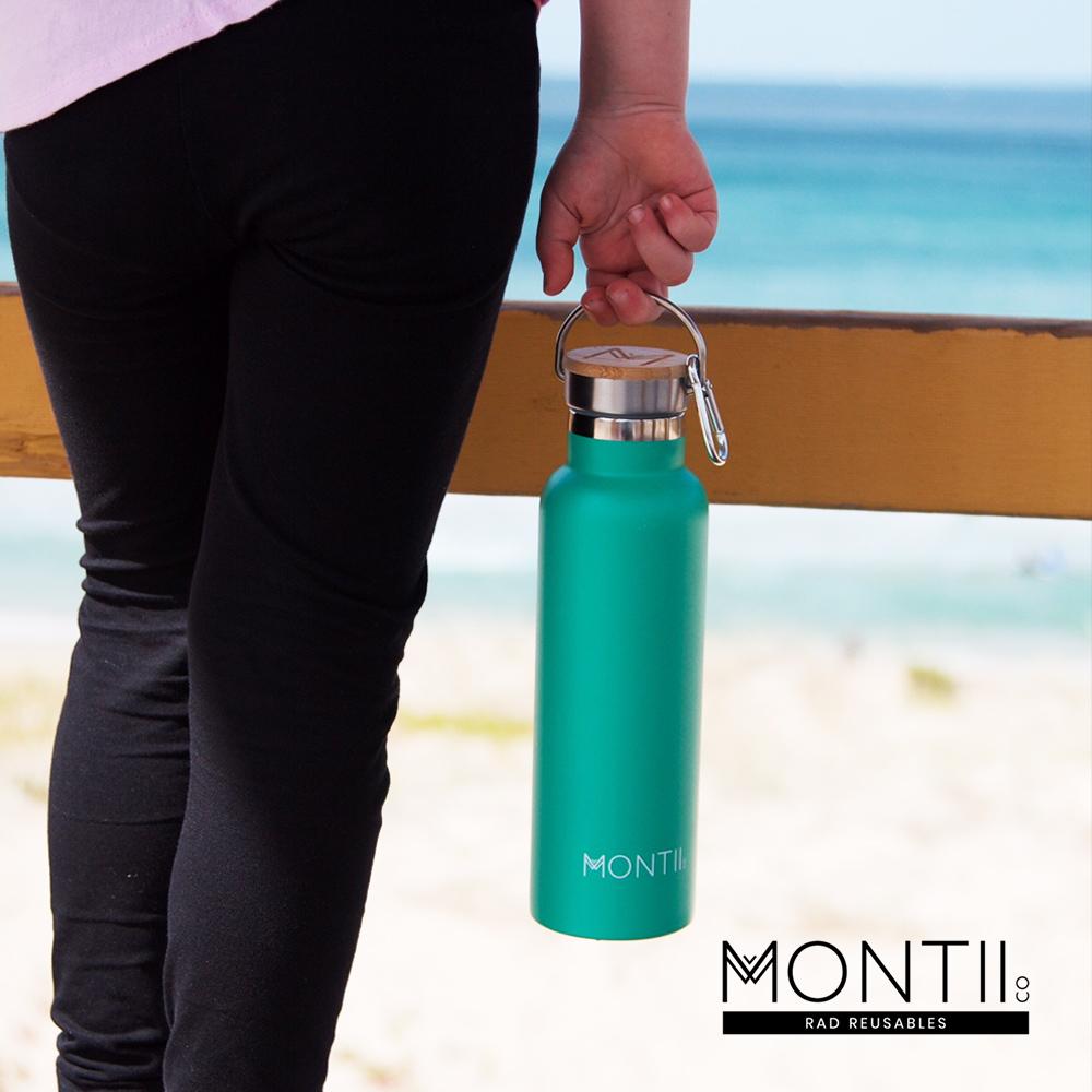 Montii  不鏽鋼水壺 - (L)草地綠