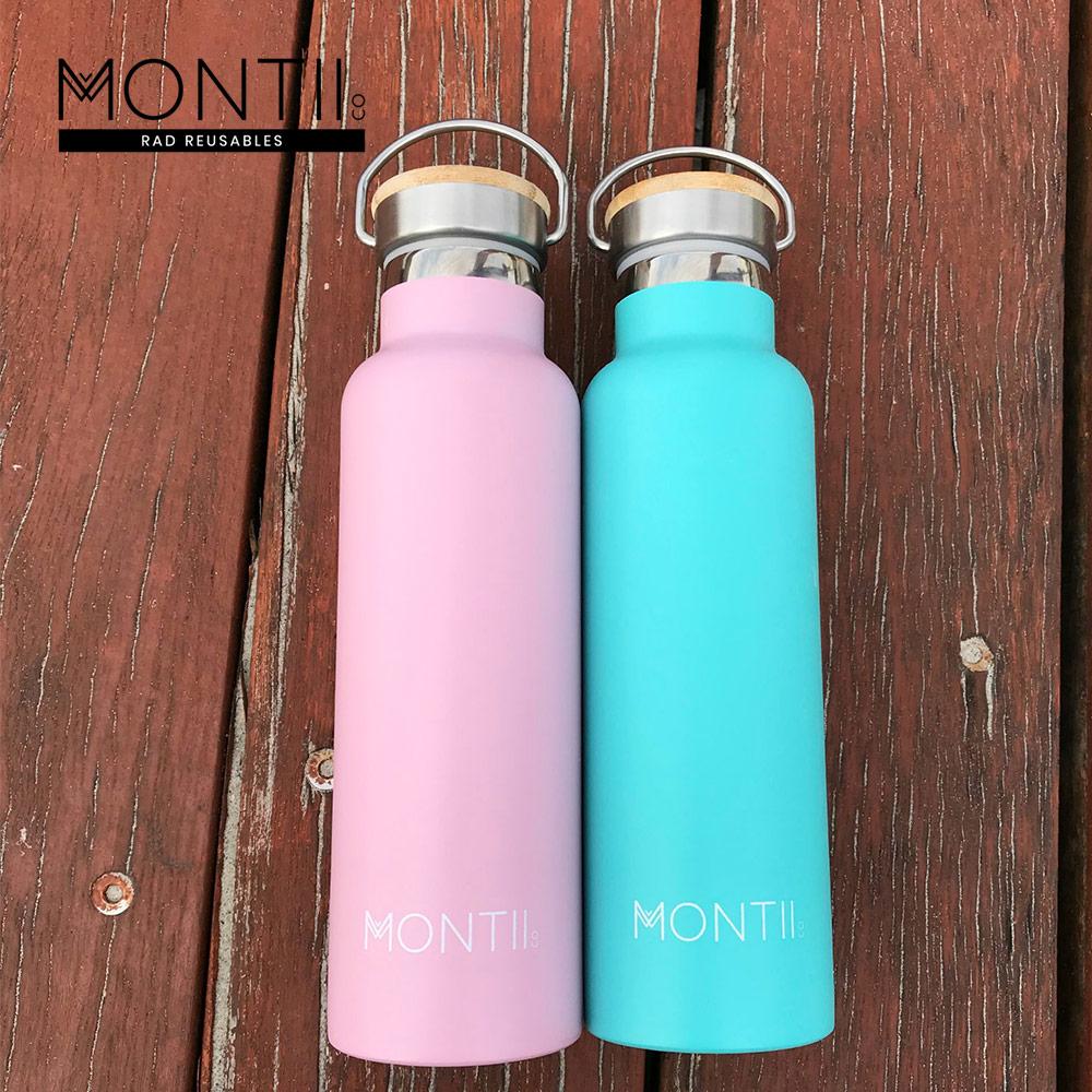 Montii |不鏽鋼水壺 - (L)甜心粉