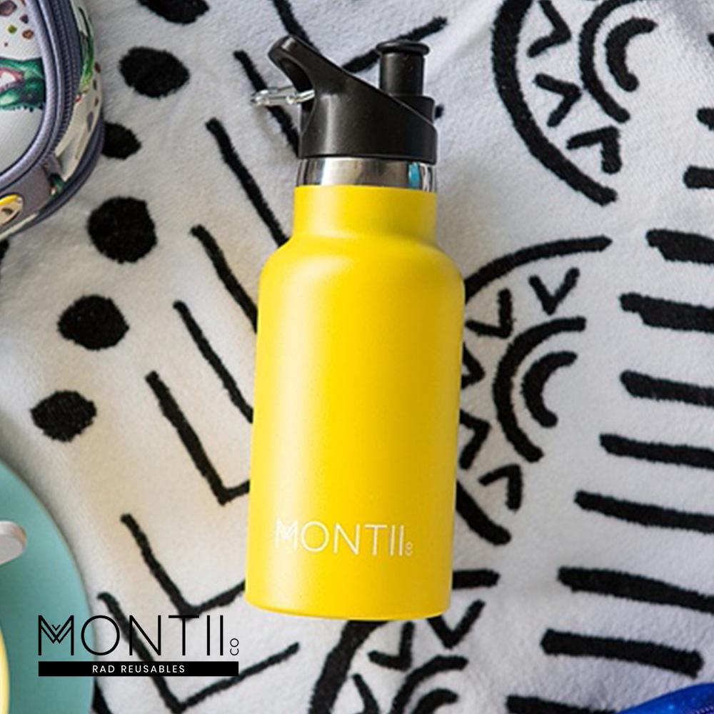 Montii |不鏽鋼水壺 - (S)檸檬黃