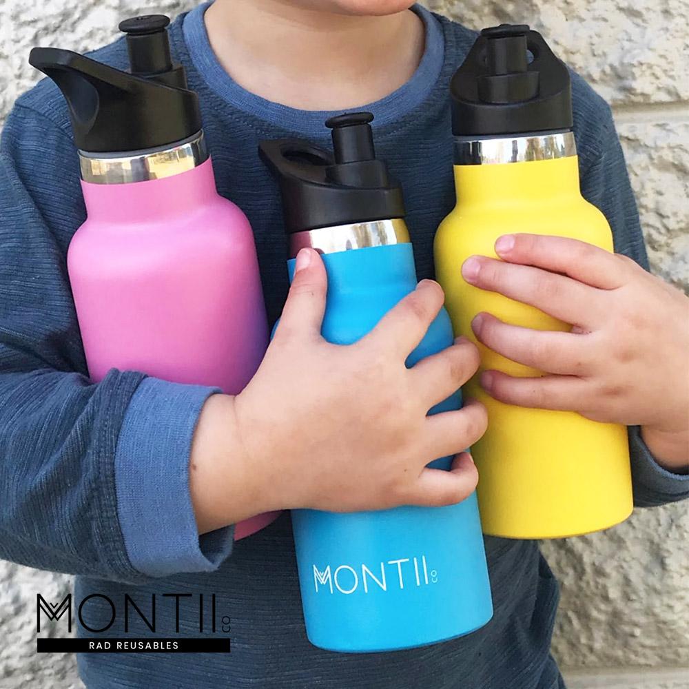 Montii |不鏽鋼水壺 - (S)蜜糖粉
