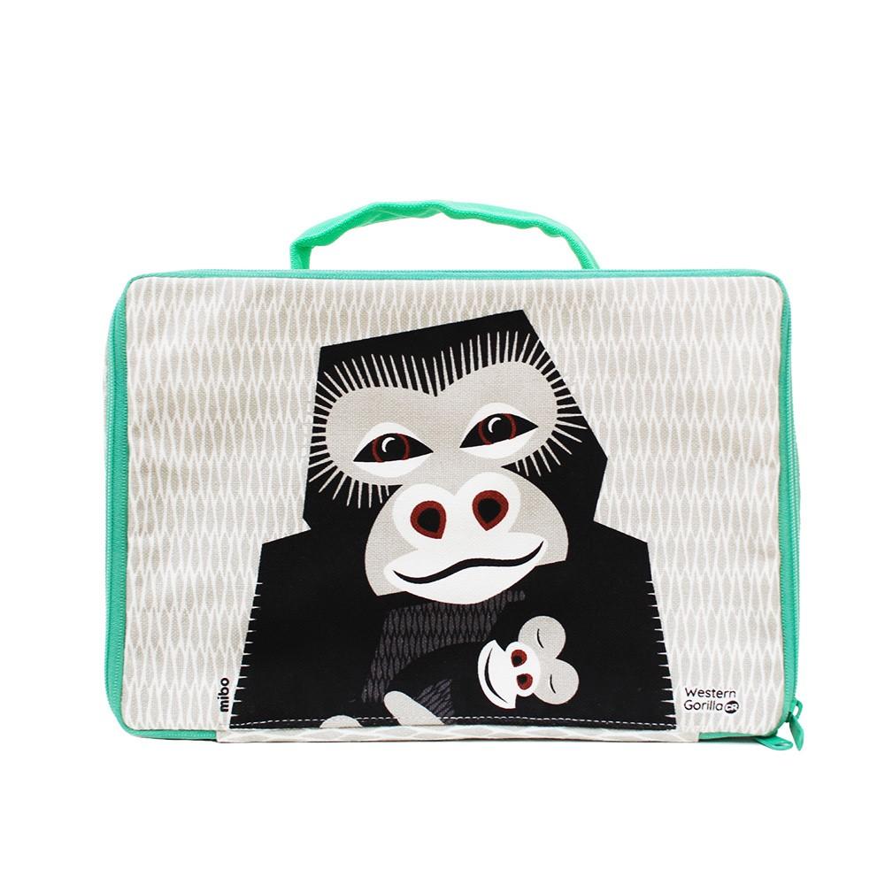 COQENPATE│法國有機棉無毒環保布包 / 方方兒拎出門 - 大猩猩