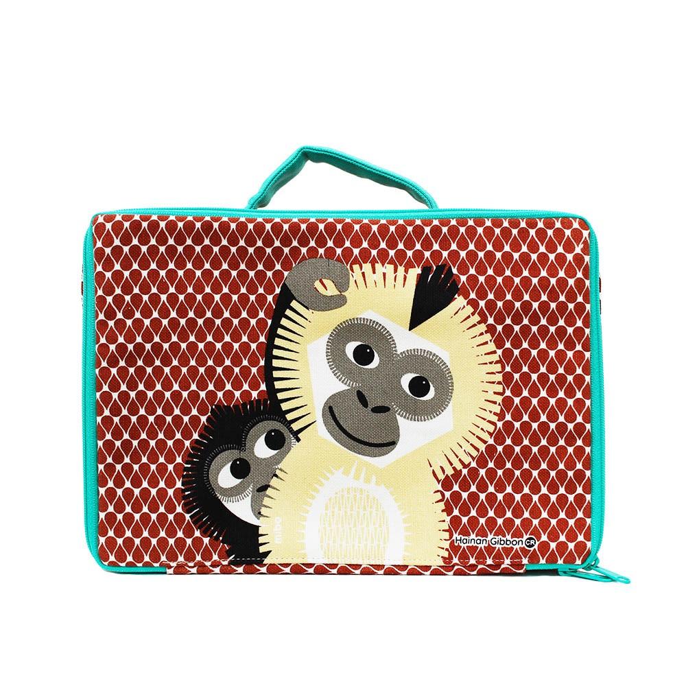 COQENPATE│法國有機棉無毒環保布包 / 方方兒拎出門 - 長臂猿