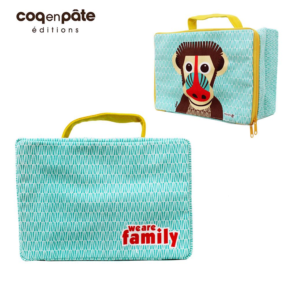 COQENPATE│法國有機棉無毒環保布包 / 方方兒拎出門 - 山魈