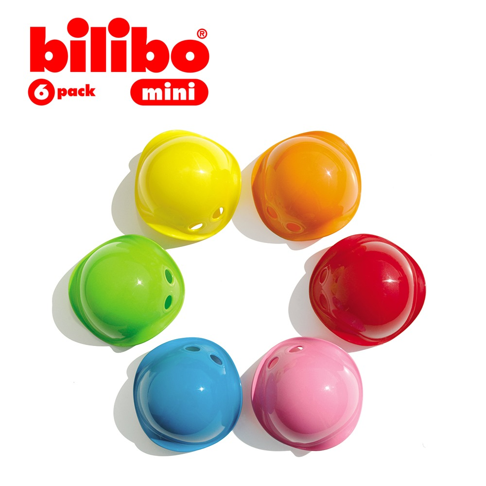 MOLUK│瑞士創意玩具 - Bilibo創意轉轉樂/小(6入組)
