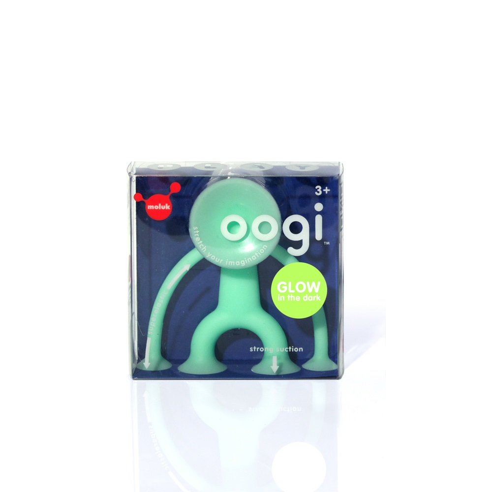MOLUK│瑞士洗澡玩具 - Oogi 麻吉好朋友- 夜光小綠人