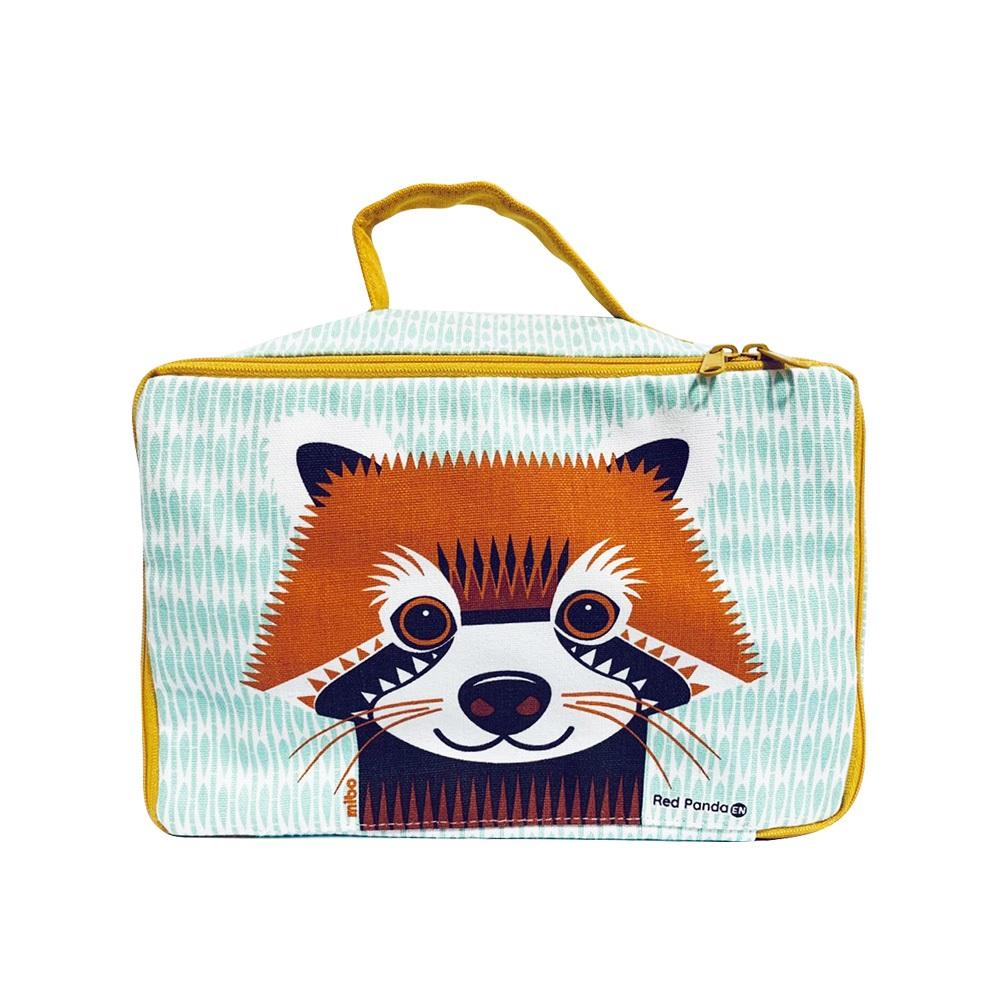 COQENPATE│法國有機棉無毒環保布包 / 方方兒拎出門 - 小熊貓
