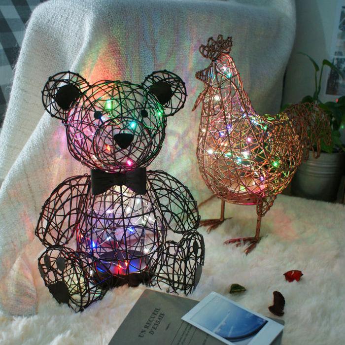 4U4U|銅心熊 造型燈飾