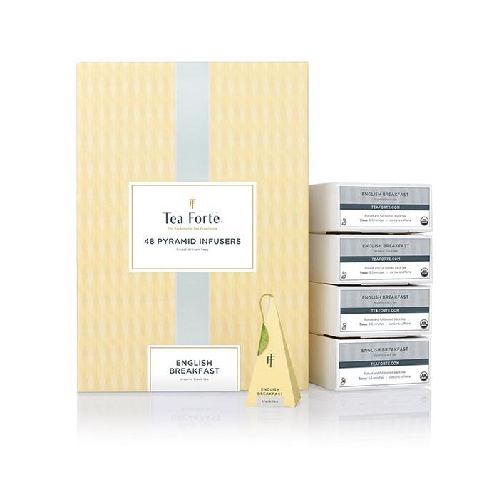 (複製)Tea Forté 48入金字塔型絲質茶包 - 蜜樹香桃綠茶