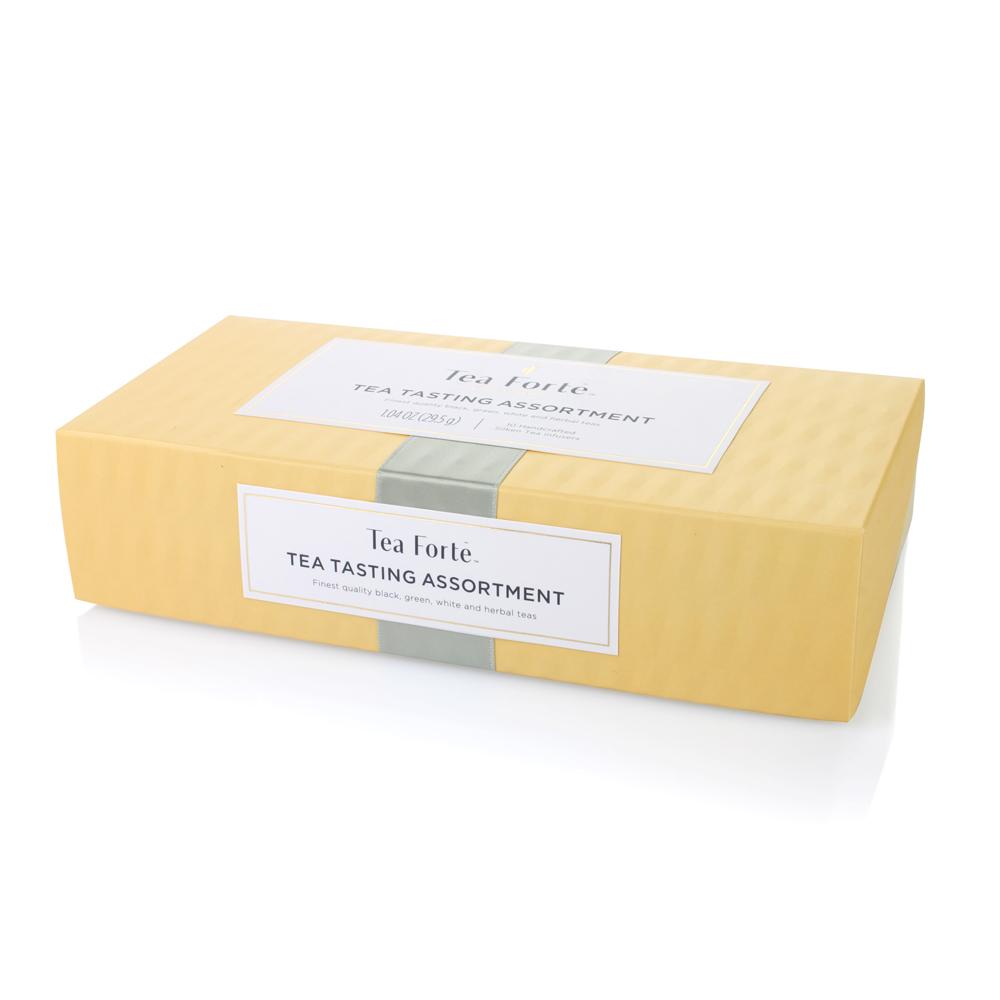 Tea Forté|10入金字塔型絲質茶包 - 饗茶集錦