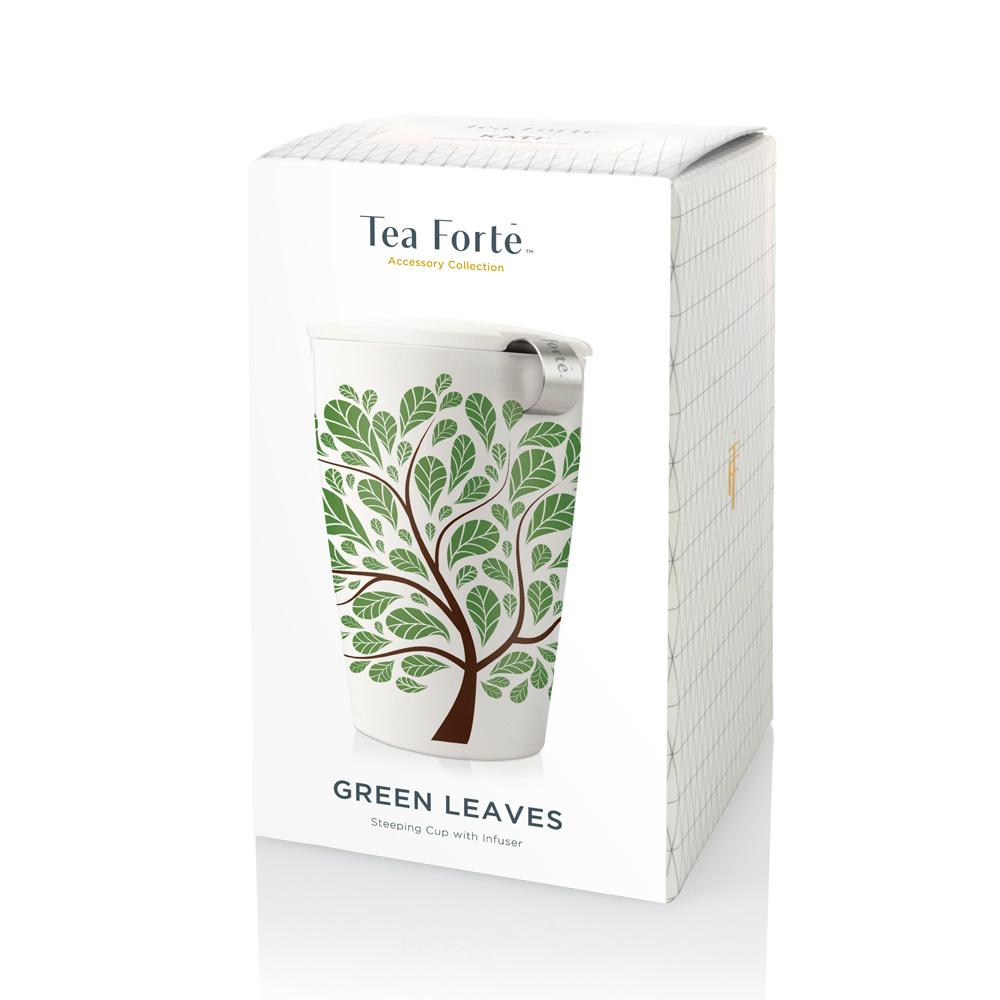 Tea Forté|卡緹茗茶杯 - 翠葉