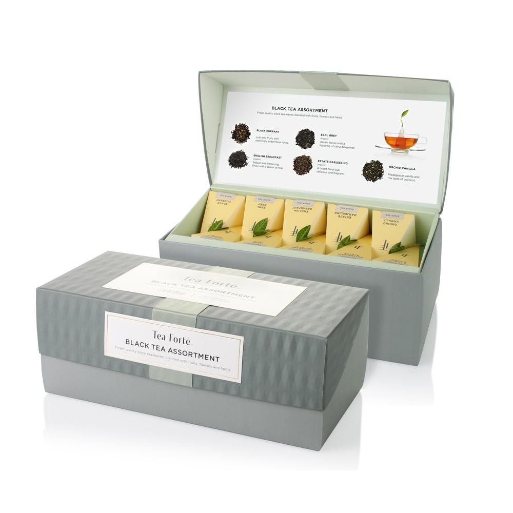 Tea Forté 20入金字塔型絲質茶包 - 英式早餐茶