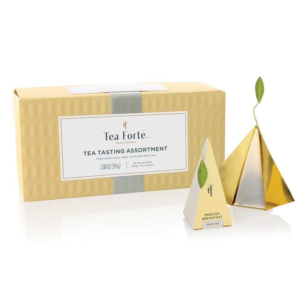 Tea Forté 20入金字塔型絲質茶包 - 饗茶集錦