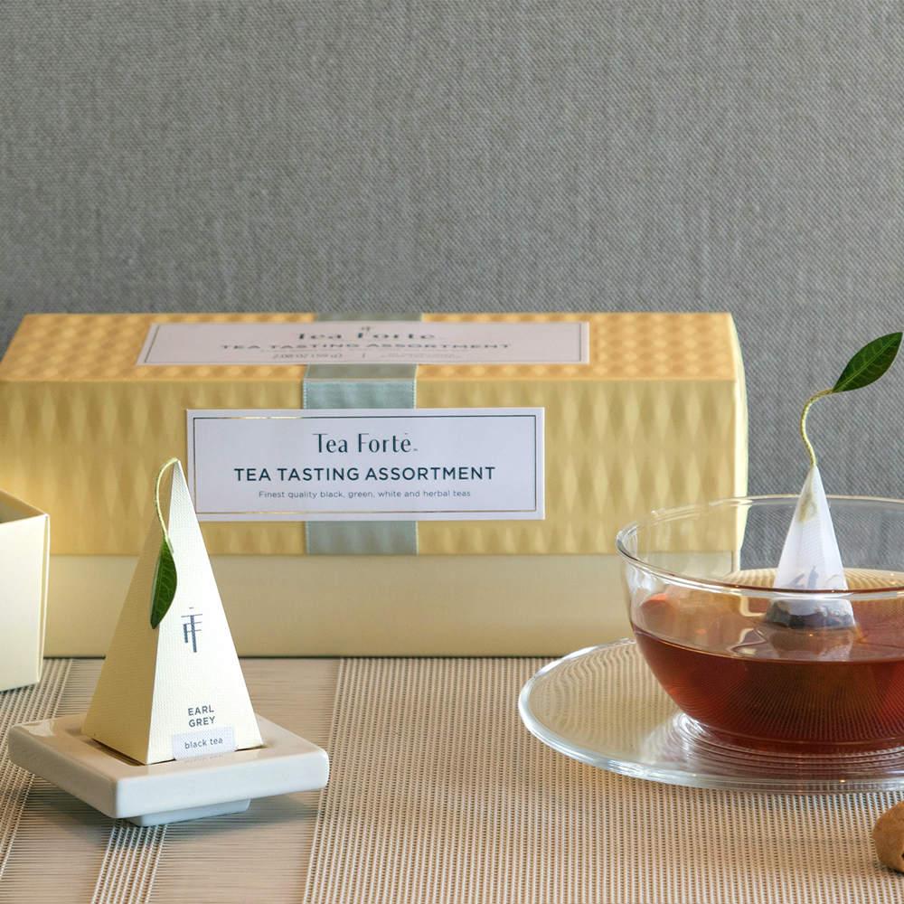 Tea Forté|20入金字塔型絲質茶包 - 柑橘薄荷茶