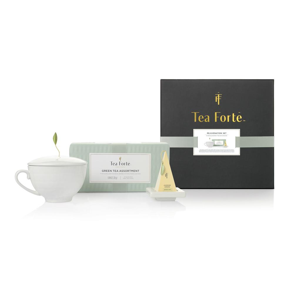 Tea Forté|單人獨享 茶品茶具禮盒