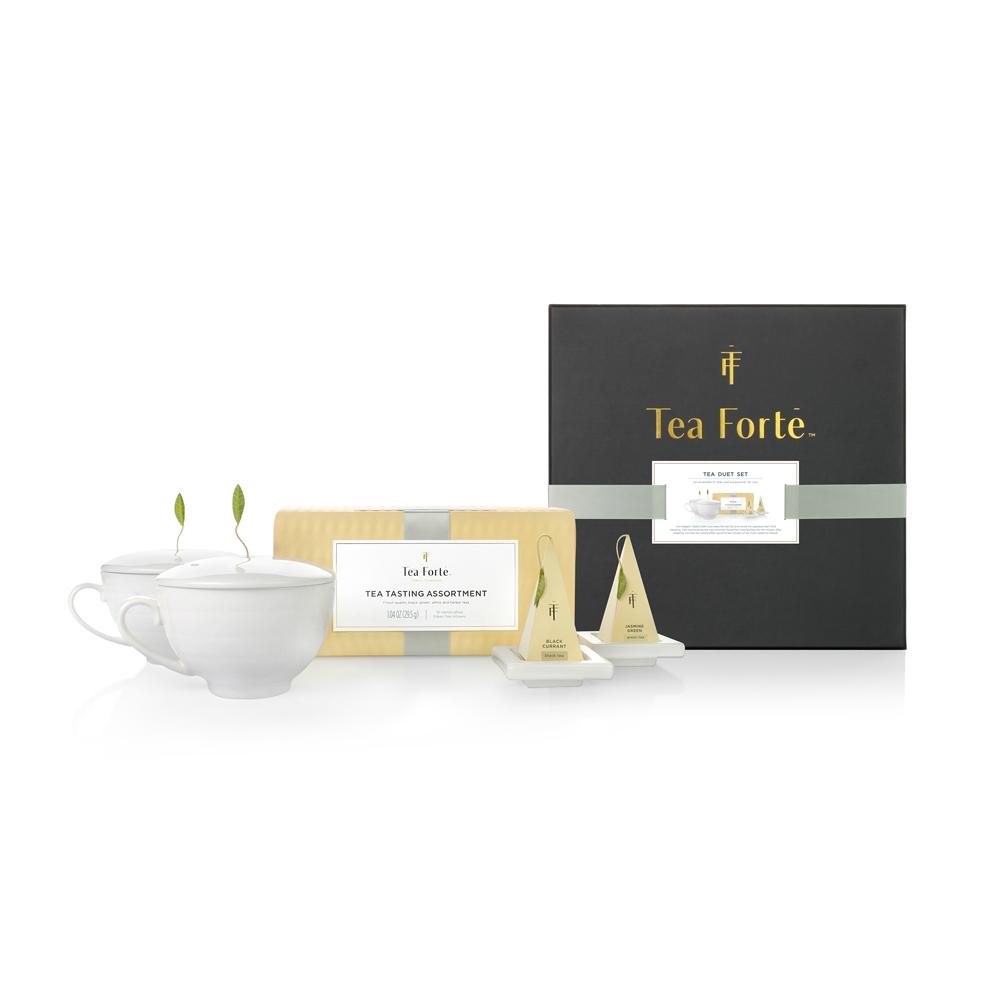 Tea Forté|雙人分享 茶品茶具禮盒