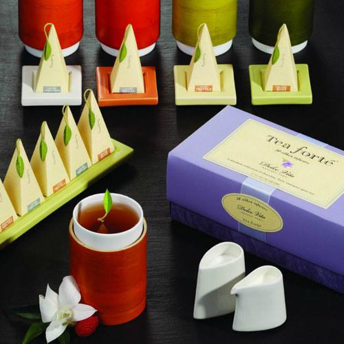Tea Forté|陶瓷長型茶托 - 草綠色