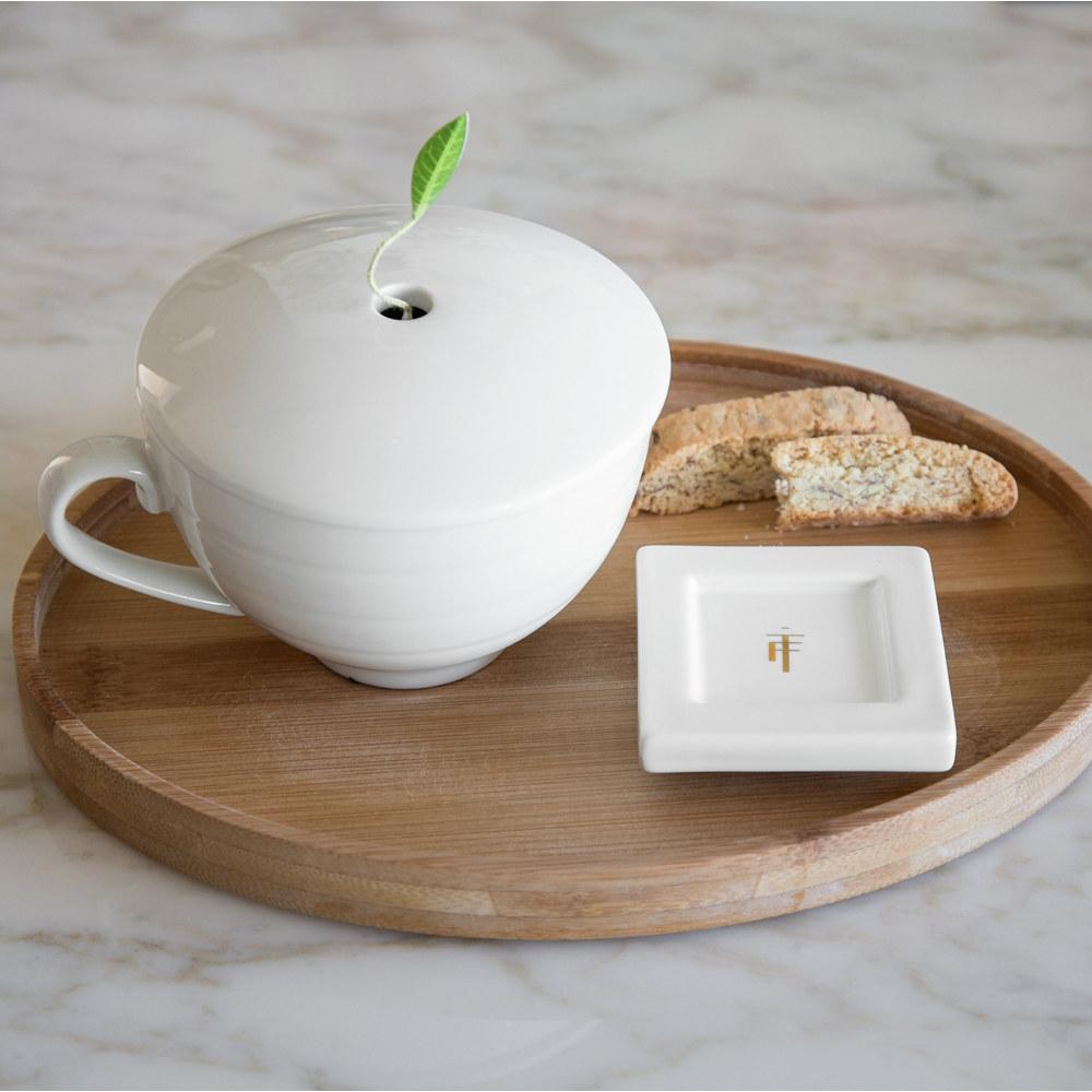 Tea Forté|橢圓竹製茶托