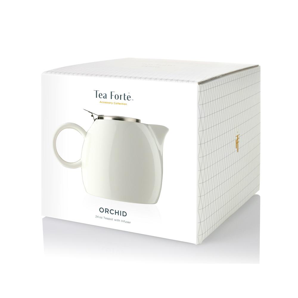 Tea Forté|普格陶瓷茶壺 - 白瓷