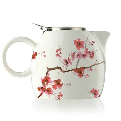 Tea Forté|普格陶瓷茶壺 - 櫻花