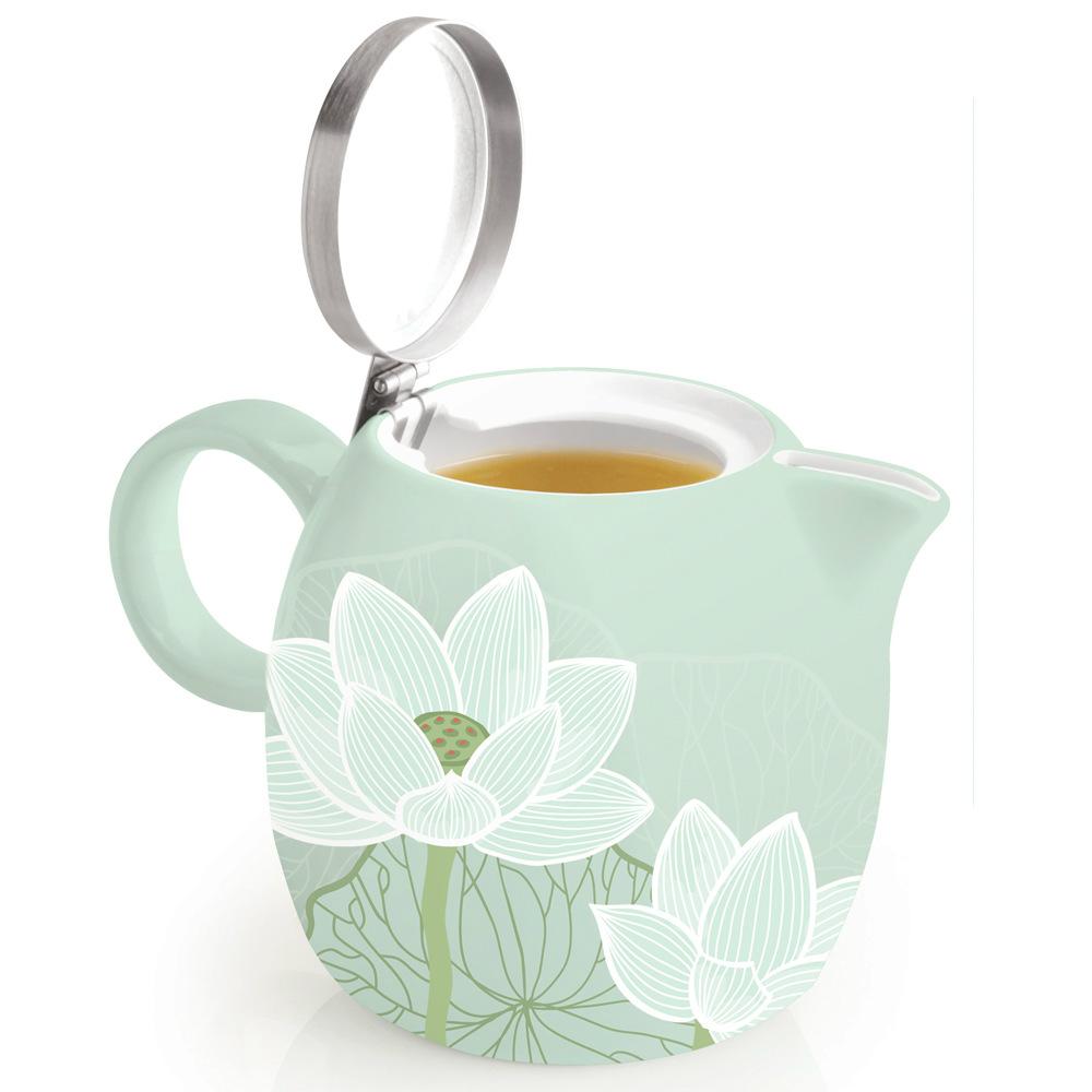 Tea Forté|普格陶瓷茶壺 - 蓮花