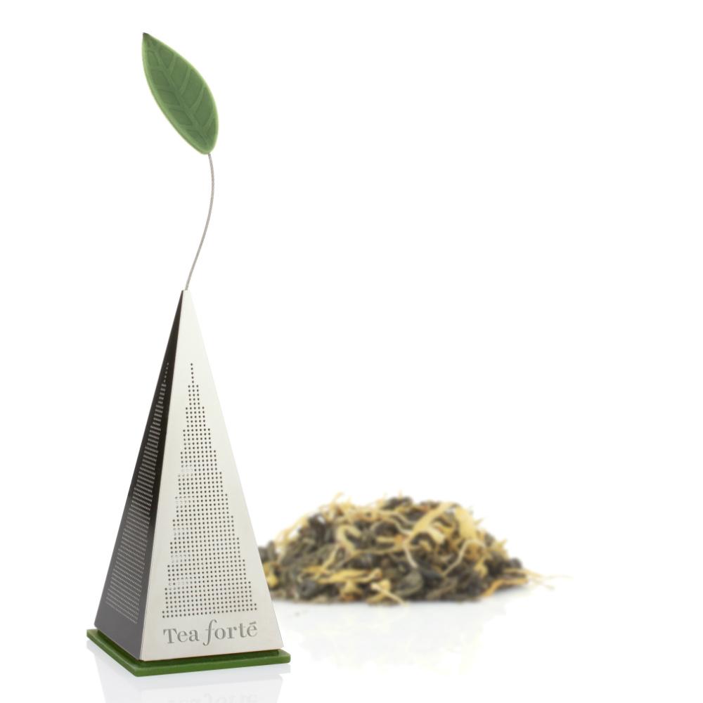 Tea Forté|金字塔型茶包金屬濾茶器
