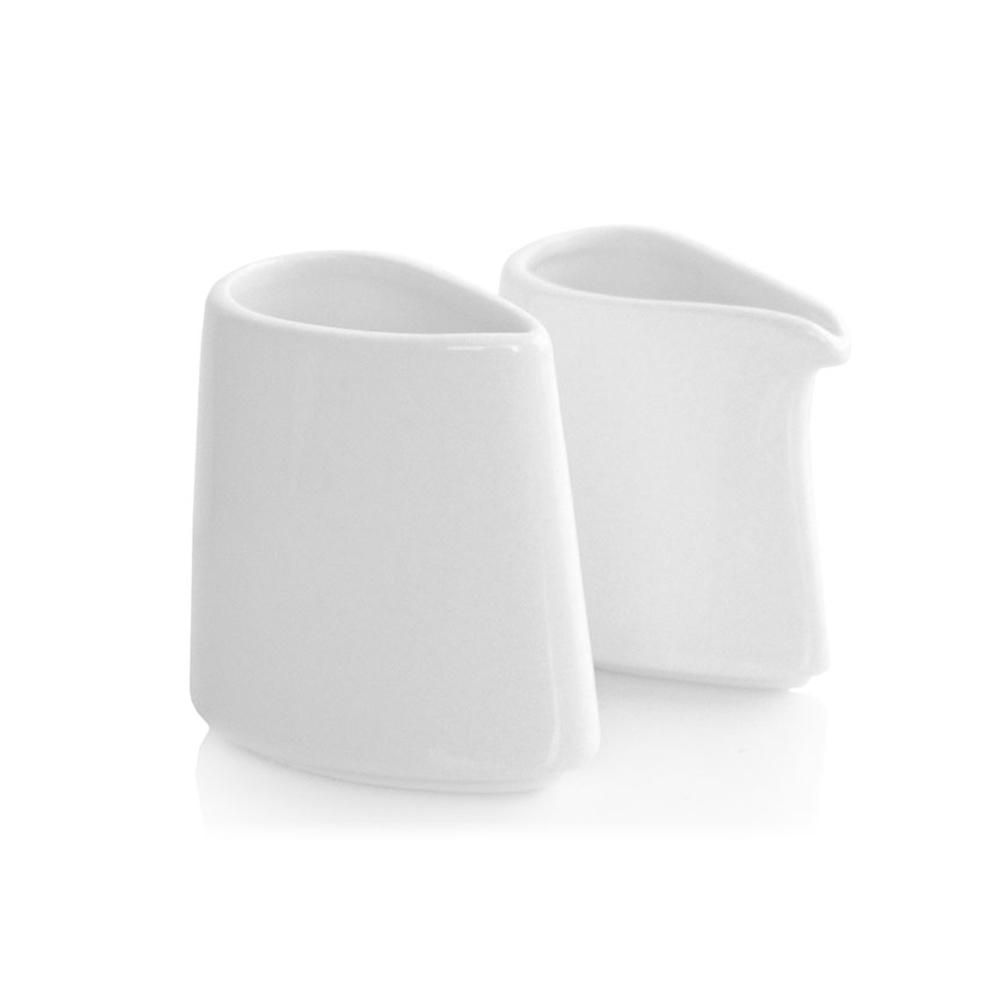 Tea Forté|白瓷糖奶盅組