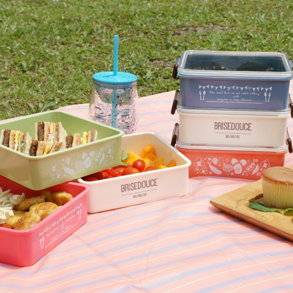 DESTINO STYLE|日本B/D三層式組合野餐盒