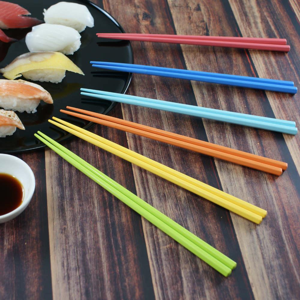 4U4U|6雙入SPS耐高溫240度環保筷 - 彩虹色