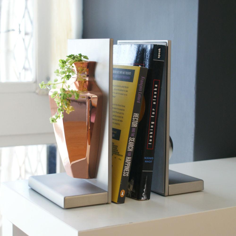 4U4U|平安花瓶 壁掛 書擋-八方瓶