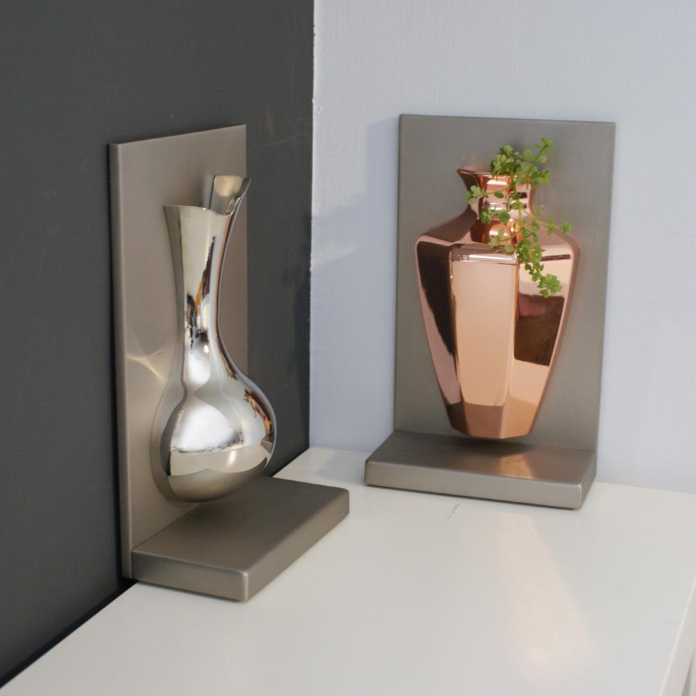 4U4U 平安花瓶 壁掛 書擋-八方瓶