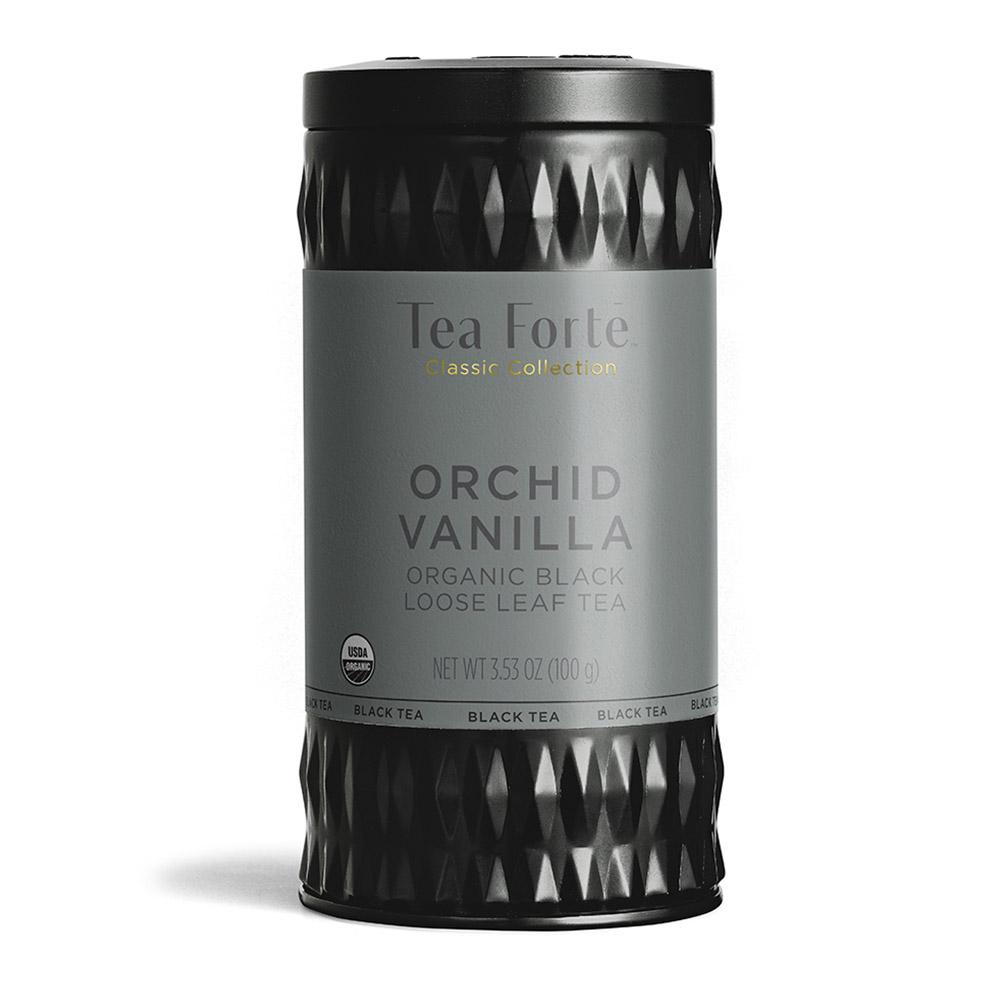 Tea Forté|罐裝茶系列 - 香草蘭花紅茶
