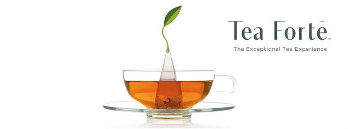 Tea Forté|48入金字塔型絲質茶包 - 伯爵紅茶