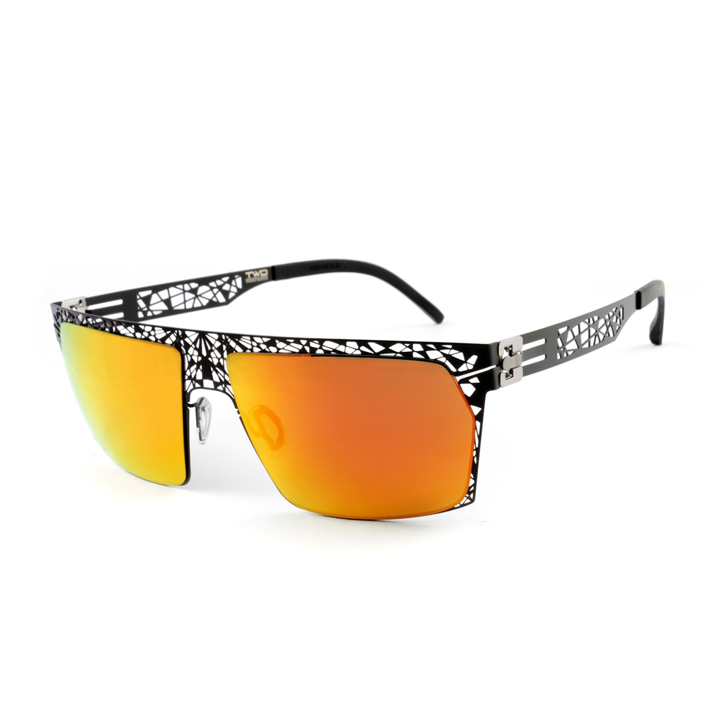 Magi-Steel 無螺絲專利結構薄鋼太陽眼鏡  潮系列–線索