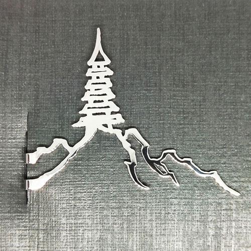 Magi-Steel |故宮長江沿岸高塔領帶夾
