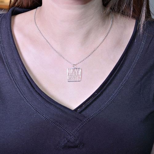 Magi-Steel| 故宮古印系列-太上皇帝之寶印章項鍊
