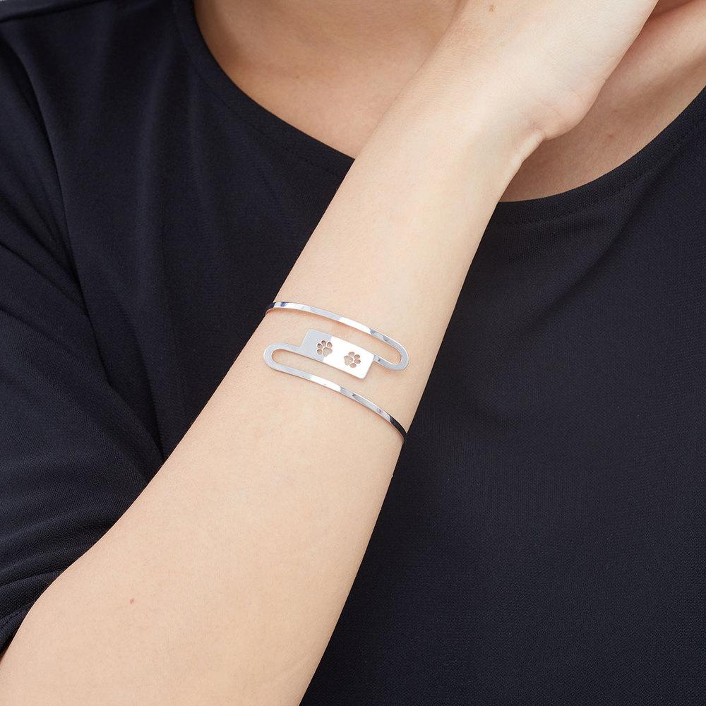 Magi-Steel|故宮聯名商品 耄耋同春-蘭蕙貍奴手環
