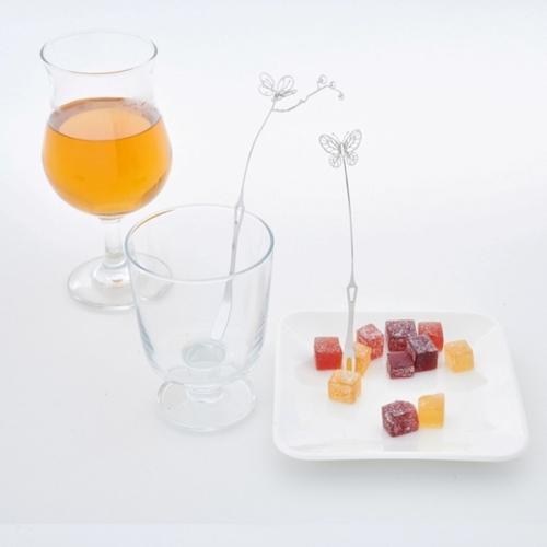Magi-Steel 故宮聯名商品 小花蝶下午茶餐具組
