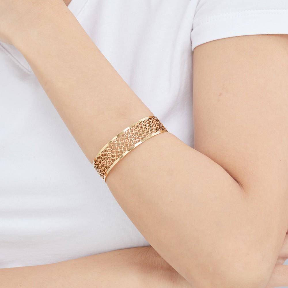 Magi-Steel 故宮富貴豐盛手環-黃金鍍膜