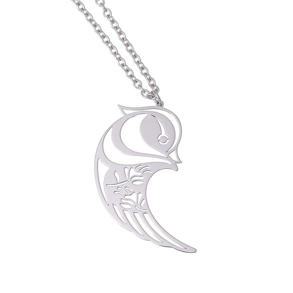 Magi-Steel|故宮聯名商品 鴛項鍊-銀色