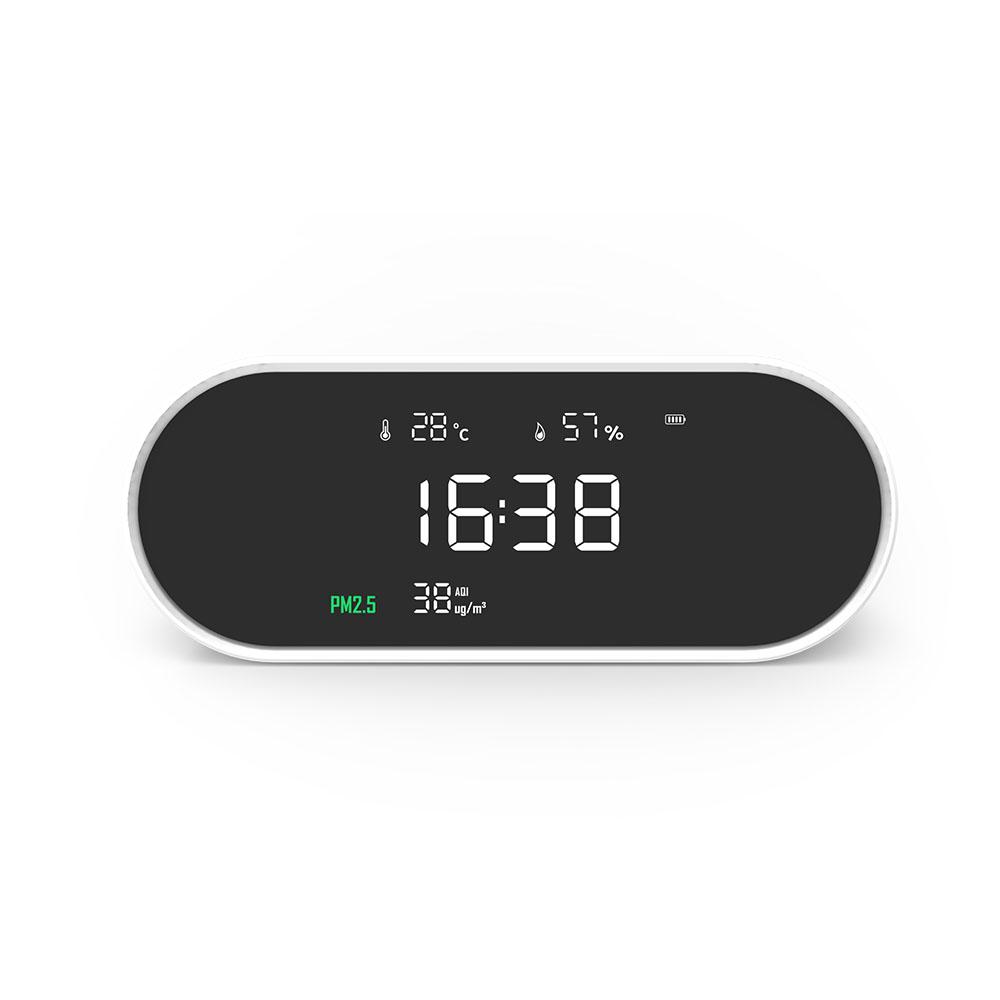LUFTRUM瑞際|三合一智能空氣品質檢測儀-M01(檢測PM2.5)