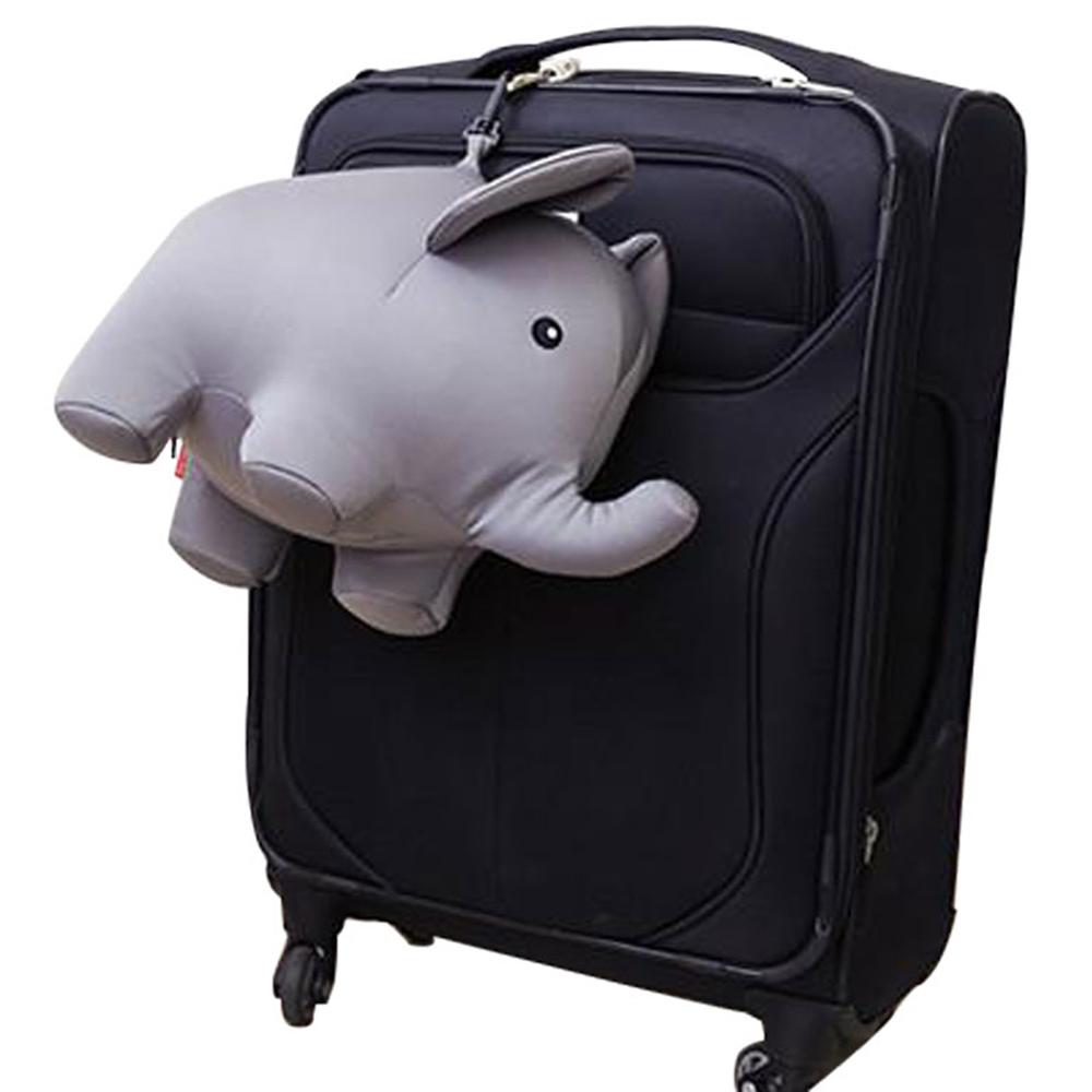 KIKKERLAND │ 大象變形枕頭-旅行靠枕
