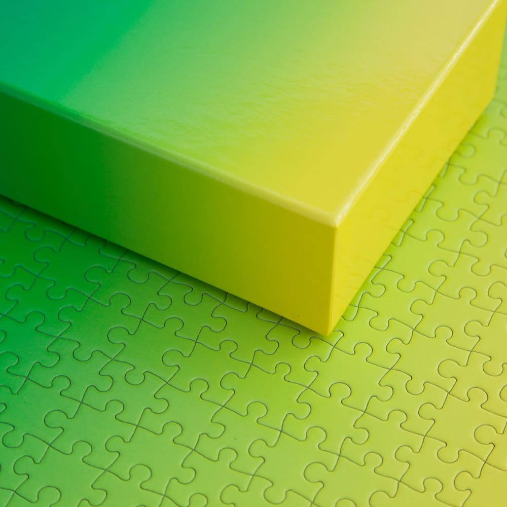 AREAWARE|漸層拼圖(黃綠款)