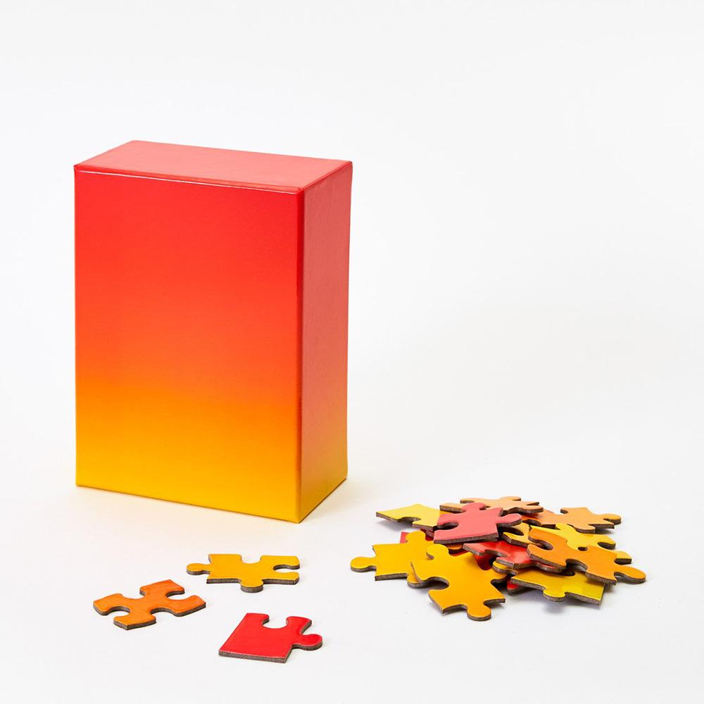 AREAWARE|漸層拼圖(紅黃款)